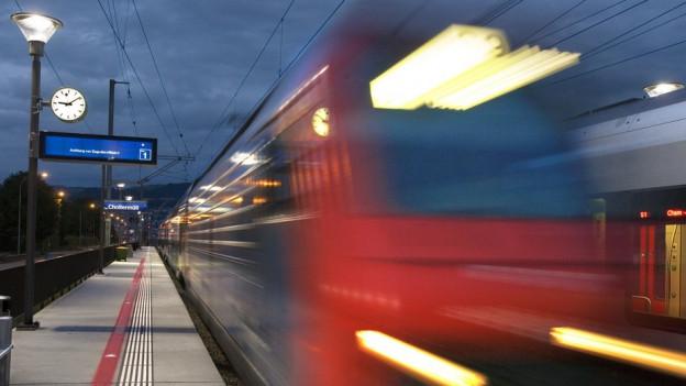Die SBB will in Zug Flächen sichern für einen allfälligen Ausbau.