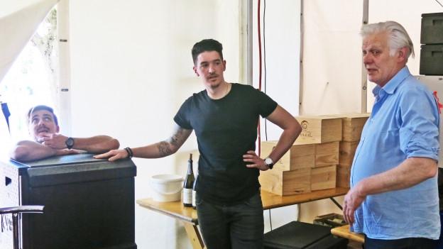 Der Luzerner Koch Mario Garcia.