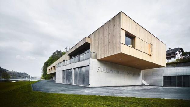 Das neue Ruderzentrum am Rotsee