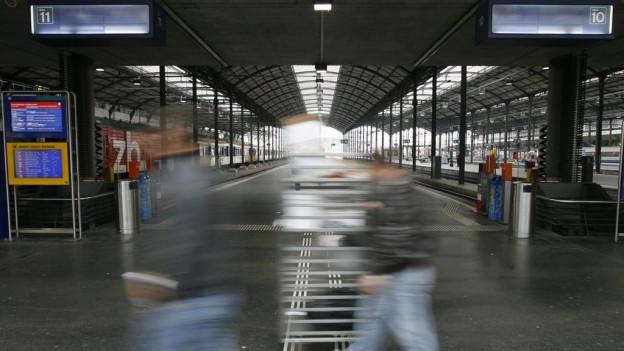 SBB-Angestellten müssen ab April 2017 von Luzern nach Olten pendeln.