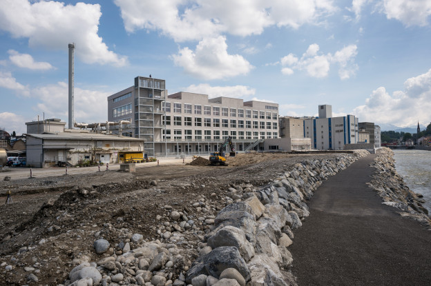 Gebäude des Departements Design und Kunst der Hochschule in Emmen.