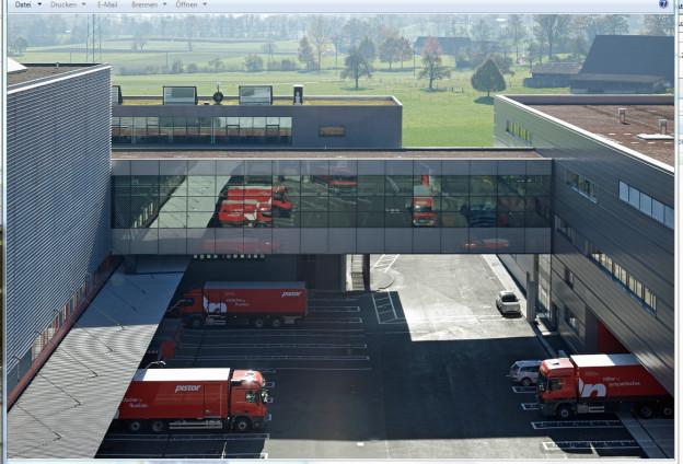 Hauptsitz der Pistor in Rothenburg.
