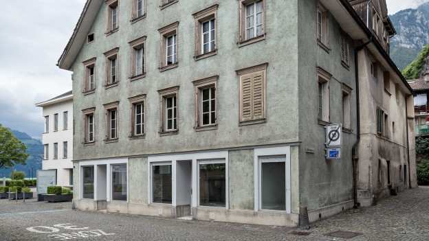 Altes Haus im Kanton Uri in der Aussenansicht.