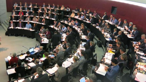 Der Luzerner Kantonsrat diskutierte das Sparpaket der Regierung.