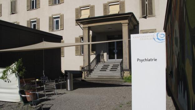 Eingang Psychiatrie Sarnen