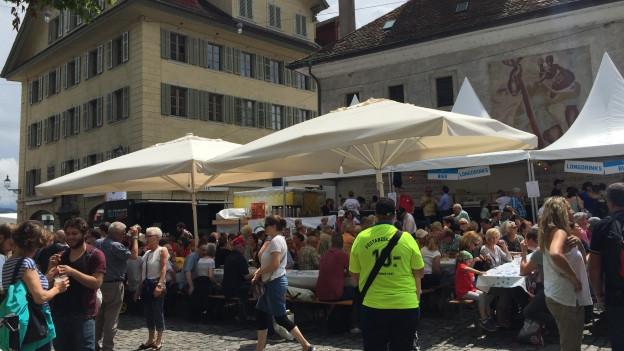 Zwei Feste in der Stadt Luzern am gleichen Wochenende.