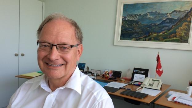 Der Obwaldner Finanzdirektor Hans Wallimann blickt zurück.