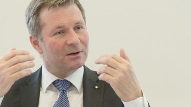 Der Luzerner Finanzdirektor Marcel Schwerzmann.