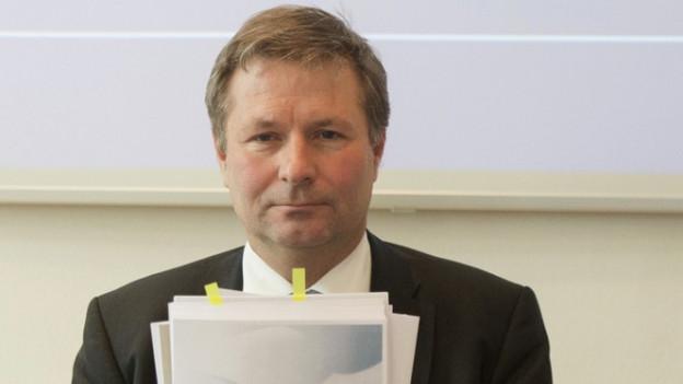 Der Luzerner Finanzdirektor Marcel Schwerzmann muss sich erklären.
