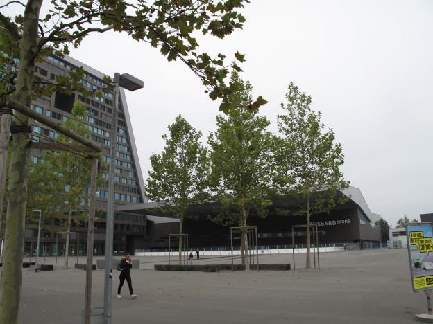 Das Eis für die Bossard Arena wird wieder konventionell aufbereitet.