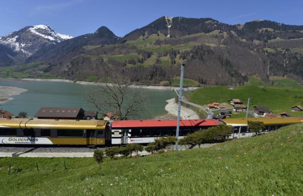 Die Bauten schützen auch das Zentralbahn-Trassee bei Lungern.