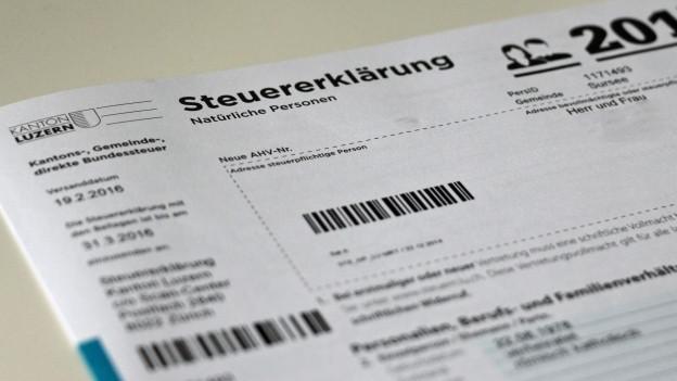 Steigen die Steuern im Kanton Luzern?