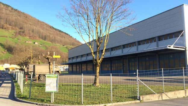 Auf dem bundeseigenen Areal Wintersried in Seewen soll das Asylzentrum entstehen.
