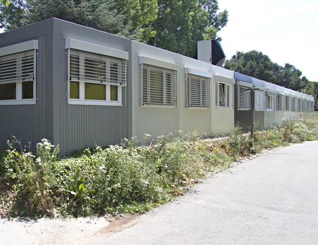 In Buttisholz kann eine solche Containersiedlung für Asylbewerber gebaut werden.