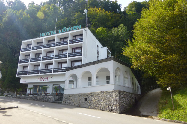 In einem ehemaligen Hotel sollen ab September 60 Asylsuchende wohnen.
