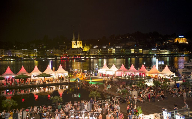 Das Blue Balls-Festival lockte gegen 100'000 Leute an