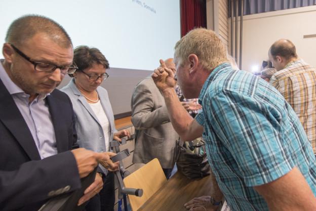 «So nicht!»: Die Urner Sozialdirektorin musste in Seelisberg einstecken.
