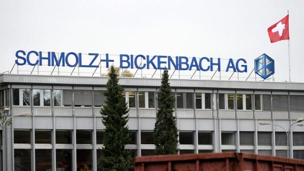Stahlunternehmen Schmolz+Bickenbach