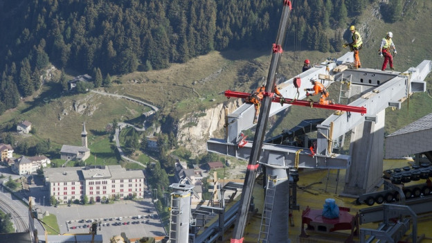 Der Ausbau des Skigebietes Andermatt geht weiter.