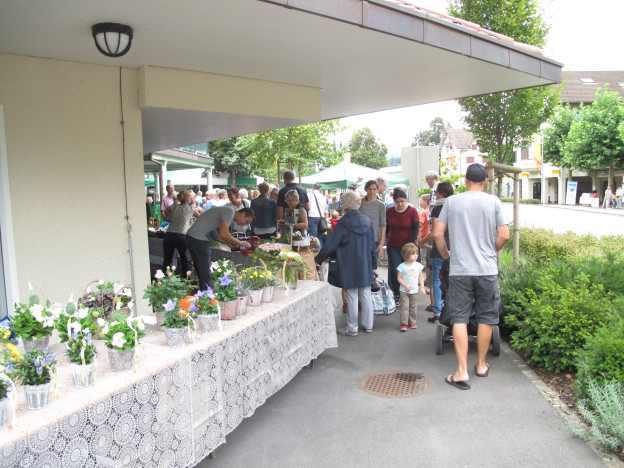 Am Samstag war zum ersten Mal Markt In Ruswil.