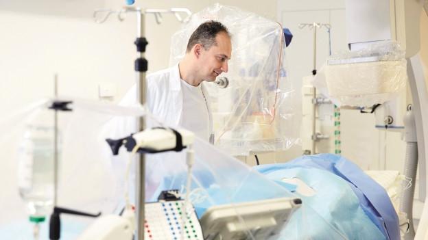 Die Kardiologie am Luzerner Kantonsspital ist gefragt.