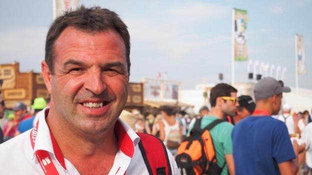 Peter Achermann, Präsident des Innerschweizer Schwingerverbandes