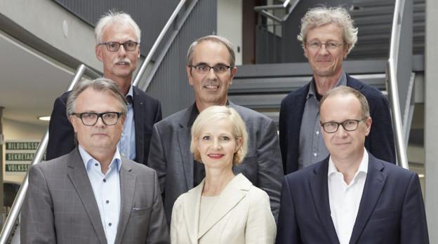 Der Luzerner Stadtrat in heutiger Zusammensetzung.