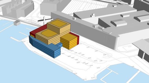 Aus dem Plan wird nichts: Visualisierung der Salle Modulable