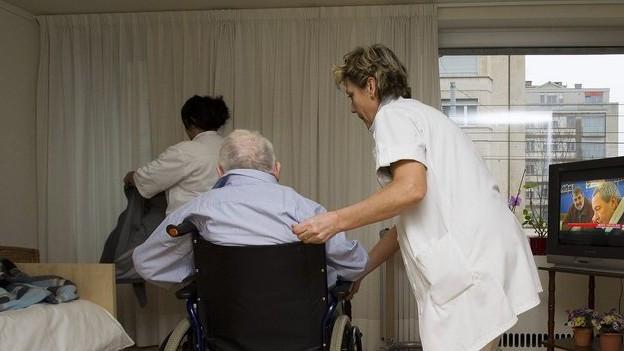 Die Pflegeheime werden stärker kontrolliert.