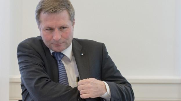 Finanzdirektor Marcel Schwerzmann muss Kritik einstecken.