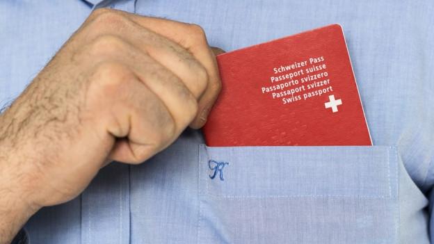 Der Schweizer Pass.