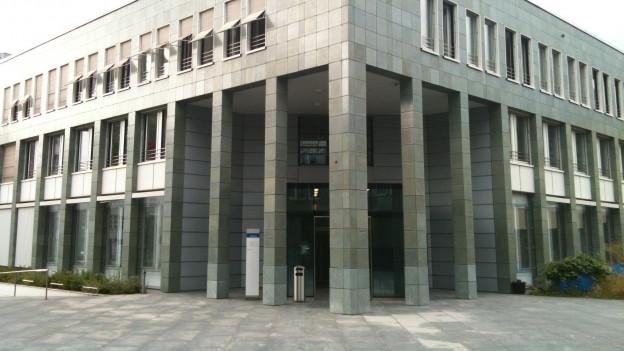 Gebäude der Zuger Gerichte.