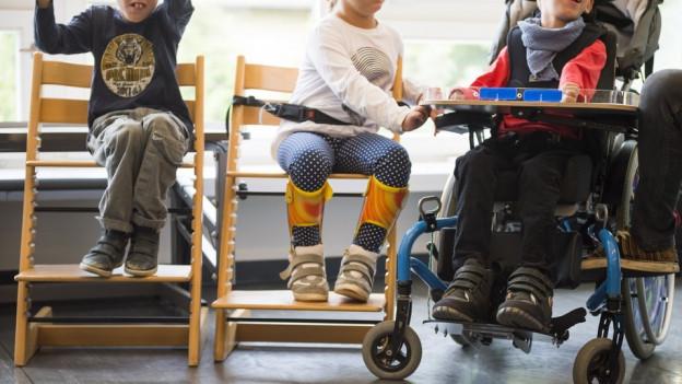 Die Sparmassnahmen bei Behindertenheime werden aufgeschoben.