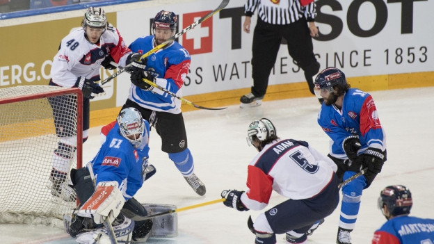 Der EVZ verliert gegen die Eisbären Berlin mit 1:2