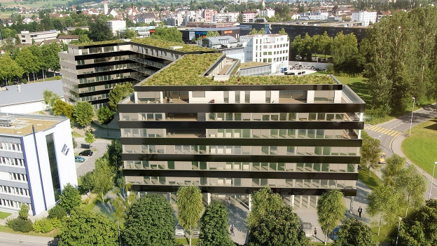 In der Überbauung Buchenhof in Sursee wurden mehr Räume bewohnt als erlaubt.