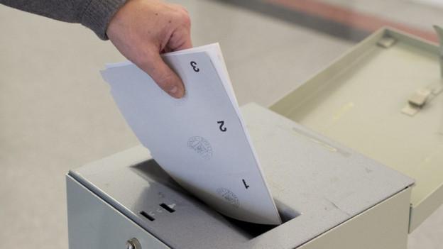 Vor der Abstimmung sind Informationen gefragt.