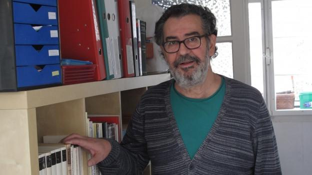 Der Dichter Bardhec Berisha aus Emmenbrücke.
