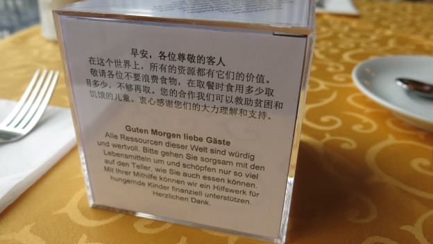 Im Hotel Monopol geht man gegen Lebensmittelverschwendung vor