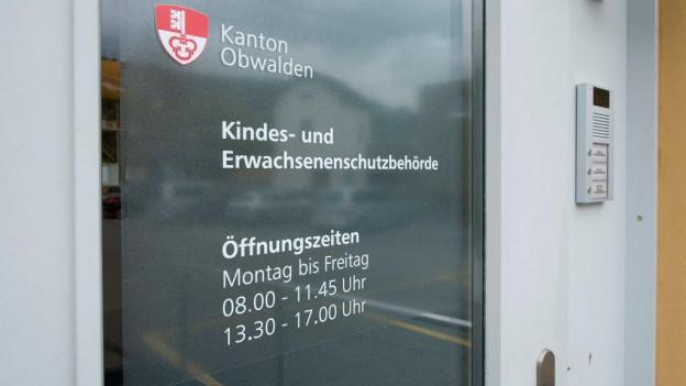 Die Praxis der Kesb Obwalden wurde im Kantonsrat kritisiert.