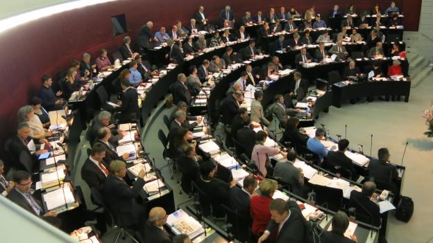 Luzerner Kantonsratssaal.