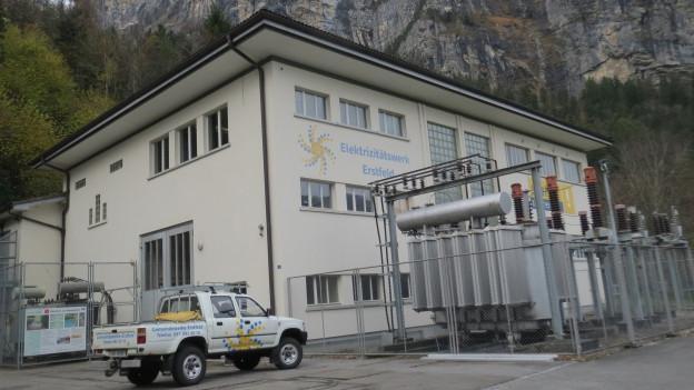 Das Elektrizitätswerk Erstfeld.