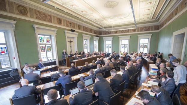 Der Zuger Kantonsrat hat dem Budget 2017 zugestimmt.