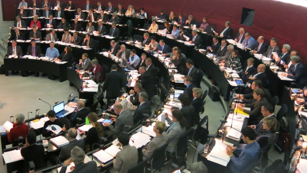 Der Luzener Kantonsrat führt am Dienstag die Spardebatte fort.
