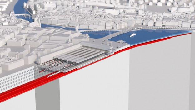 Der Durchgangsbahnhof Luzern ist eines der Kernprojekte im dritten Agglomerationsprogramm