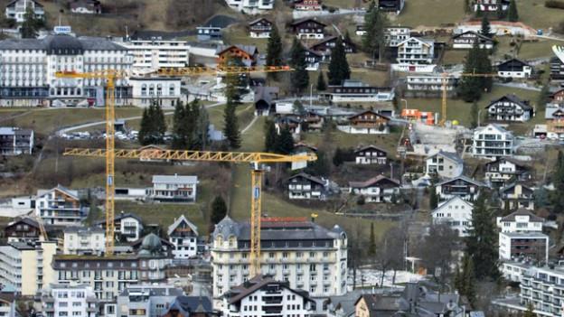 Wie hier in Engelberg sorgt auch die Bautätigkeit für Aufwand.