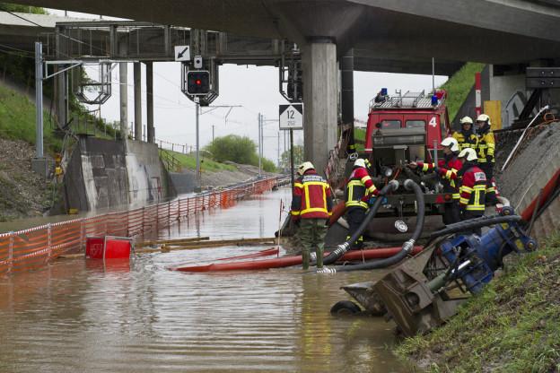 Feuerwehren sind immer mehr Wasserwehren.