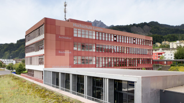 Ein möglicher Standort für den Innovationspark Zentralschweiz wäre die Hochschule Luzern in Horw.