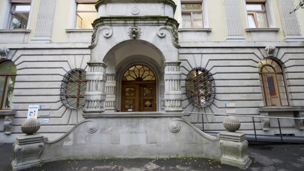 Das Luzerner Stadthaus.