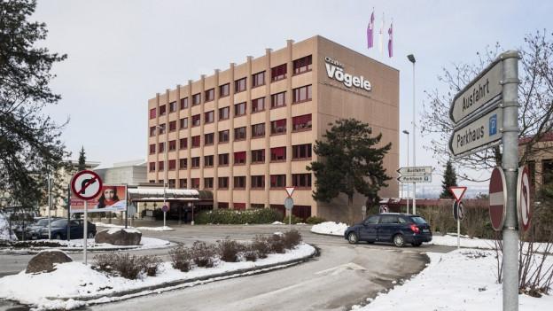 Der Hauptsitz von Charles Vögele in Pfäffikon.
