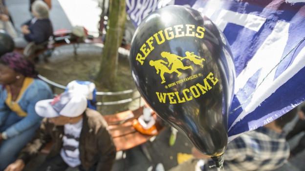 Demonstrationen sind Teil der Meinungsäusserungsfreiheit (Archivbild einer - bewilligten - Demonstration in Luzern).